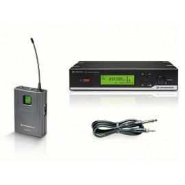 Sennheiser XSW-72/B bodypack + instrument kabel -