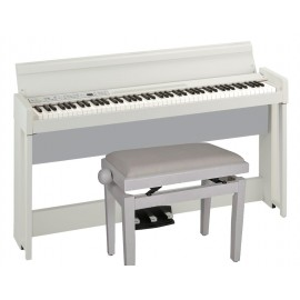 Korg C1 Air + Beethoven bank (Wit) -