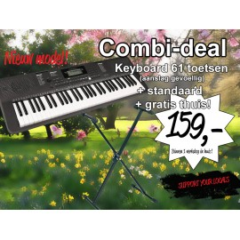 Keyboard (61 toets) Combi-Deal -