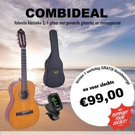 Combideal Valencia 3/4 gitaar -