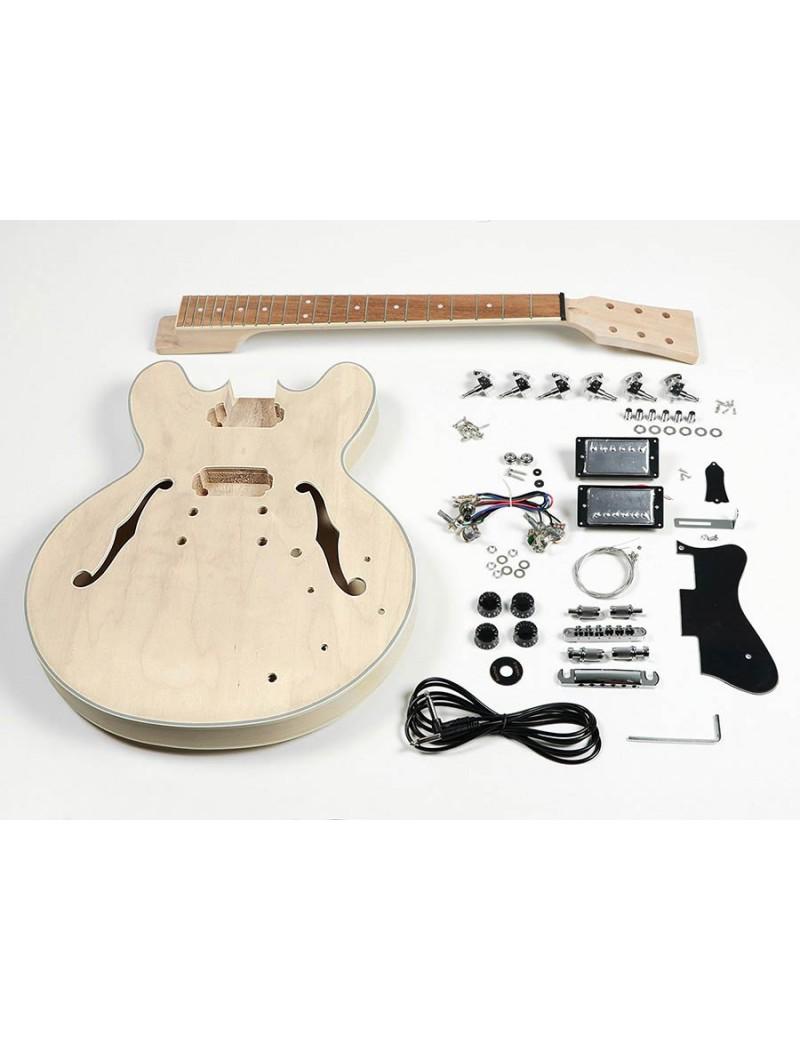 Zelfbouw semi-akoestische gitaar pakket -