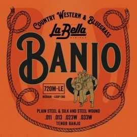 La Bella Banjo Snaren -