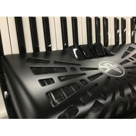 Hohner Bravo 60 Silent key zwart -