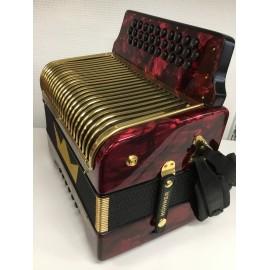 Hohner Corona II de Luxe G-C-F (occasion) -