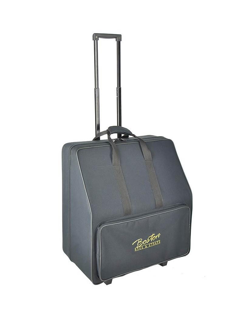 72 bas accordeon trolley softcase met schuim -