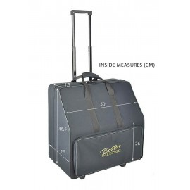 96 bas accordeon trolley softcase met schuim -
