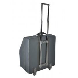 120 Bas Accordeon Trolley Softcase Met Schuim -