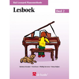 Hal Leonard Pianomethode Lesboek 2 -
