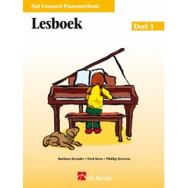 Hal Leonard Pianomethode Lesboek 3 -
