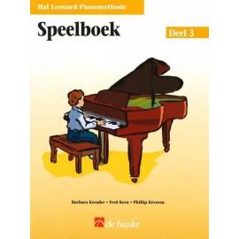 Hal Leonard Piano speelboek 3 -
