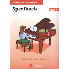Hal Leonard Piano speelboek 5 -