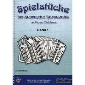 Spielstücke für Steirische Harmonika, Band 1 -