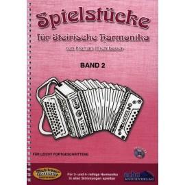 Spielstücke für Steirische Harmonika, Band 2 -