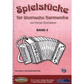 Spielstücke für Steirische Harmonika, Band 3 -