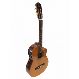 Motion cutaway klasiek gitaar, EQ, solid top -