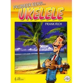Probeer eens Ukelele - Frank Rich + CD -