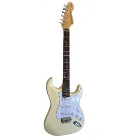 Encore electr. guitar E6 white -