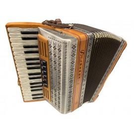 Silberbach steirische accordeon met Heliconbassen (occasion) -