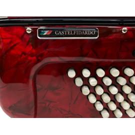 Dino Baffetti 96 bas 4 korig knopaccordeon (occasion) -