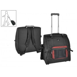 Boston Carrier case with Backpack/Trolley, 96 bass -