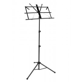 Music stand foldable with carrying case -