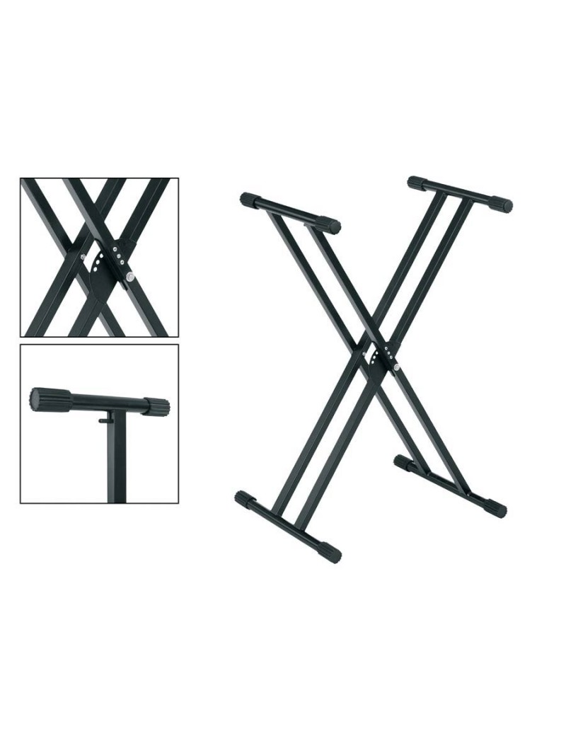 Keyboard stand XX adjustable in height -