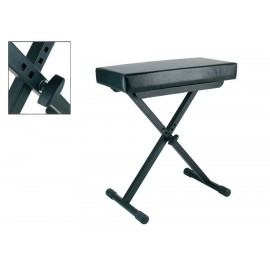 Bench adjustable in height -