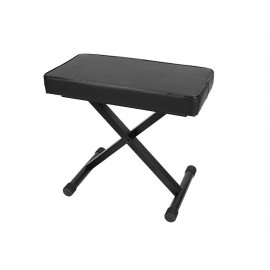 Bench adjustable in height (extra thick seat) -