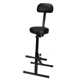Music seat adjustable in height -