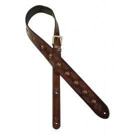 Gaucho leather guitar strap -