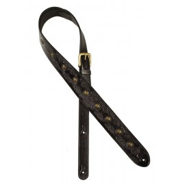 Gaucho leather guitar strap -