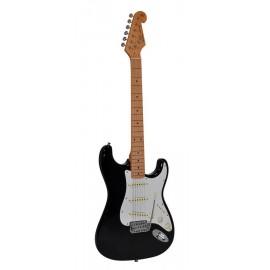 SX electr. guitar SST57-BK...
