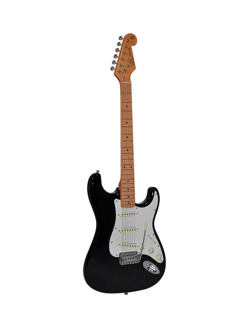 SX electr. guitar SST57-BK incl. Bag -