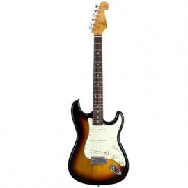 SX electr. guitar Strat '62 Sunburst incl. bag -