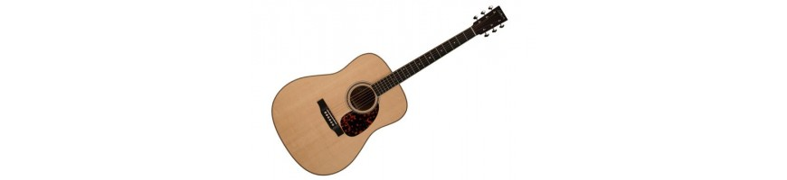 Large selection of classical and acoustic guitars at Toon Sileon