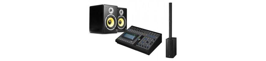 Speakers + mixers