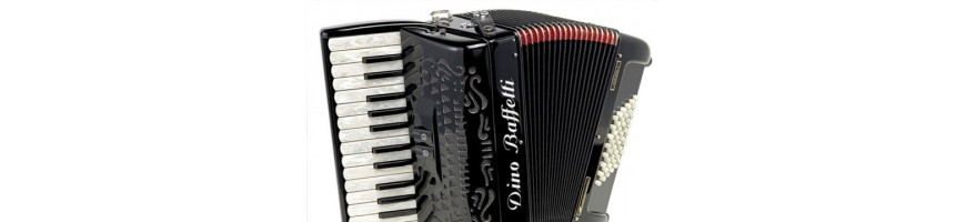 96 and 120 bass accordions with warranty